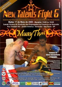 New Talents Fight 6 - Cartaz (Small)