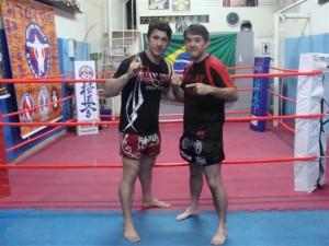 Mestre Sandro de Castro - Equipe Thai Center - Santos/SP
