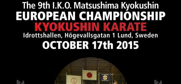 9th IKO MATSUSHIMA EUROPEAN KYOKUSHIN CHAMPIONSHIP