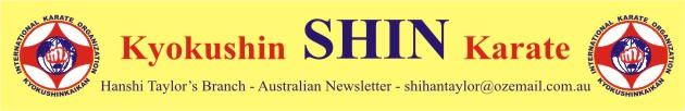 Informativo SHIN – Hanshi John Taylor