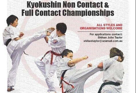 2016 Australian Kyokushin Championship