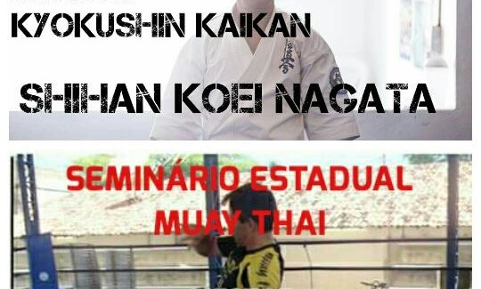 Seminário de Karate Kyokushinkaikan & Muaythai – Ilha de Itamaracá – PE 04/JUN/2016