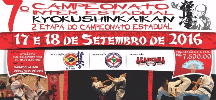 7º Campeonato Interestadual de Karate Kyokushinkaikan – Resultados