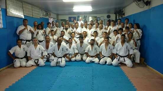 Exame de Faixa Preta em Karate Kyokushinkaikan – 28/JAN/2017
