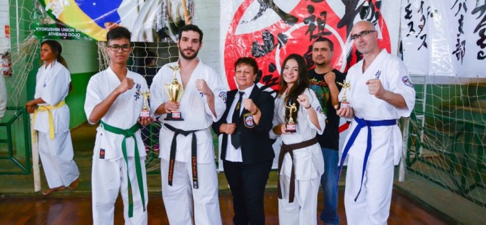 Atletas da Kyokushinkaikan participam do Campeonato Paulista Union – 25/JUN/2017