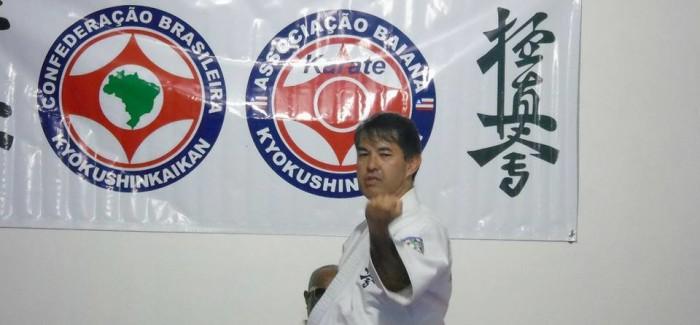 Shihan Nagata ministra seminário de Karate Kyokushinkaikan – 14/JUL/2017