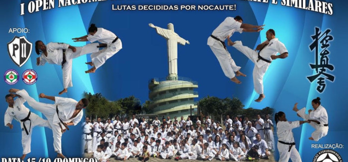 1º Open Nacional de Kyokushinkaikan Karate e Similares – 15/OUT/2017