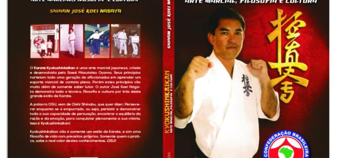 Shihan Nagata lança o livro KYOKUSHINKAIKAN